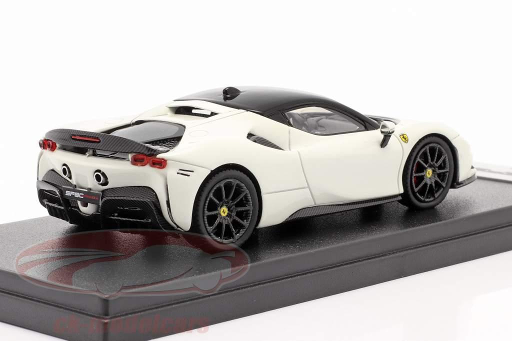Ferrari SF90 Stradale year 2019 avus white / black 1:43 LookSmart