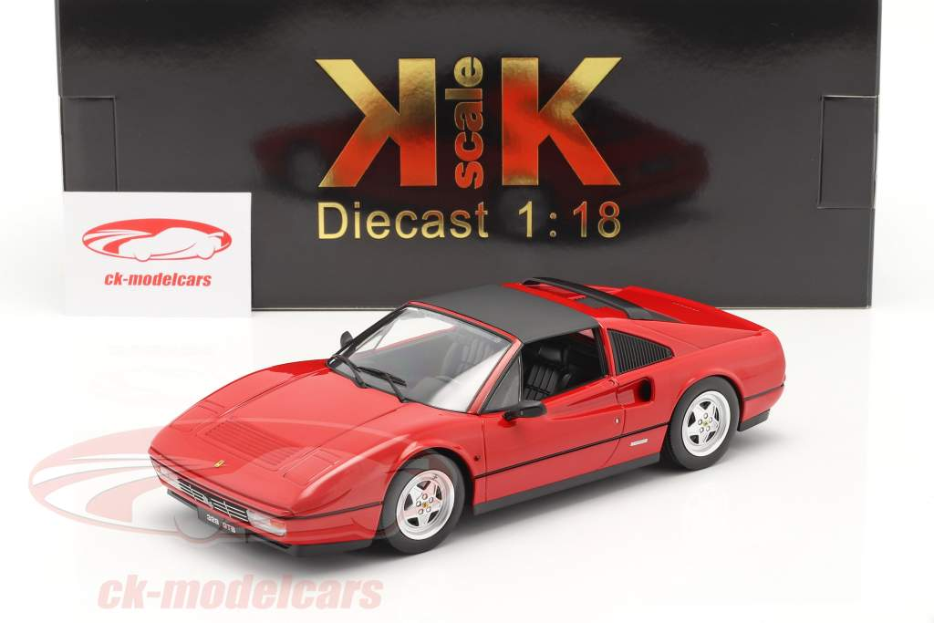 Ferrari 328 GTS Baujahr 1985 rot 1:18 KK-Scale