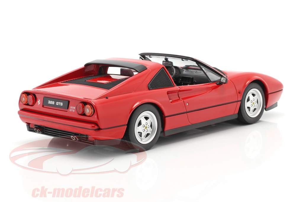 Ferrari 328 GTS year 1985 red 1:18 KK-Scale