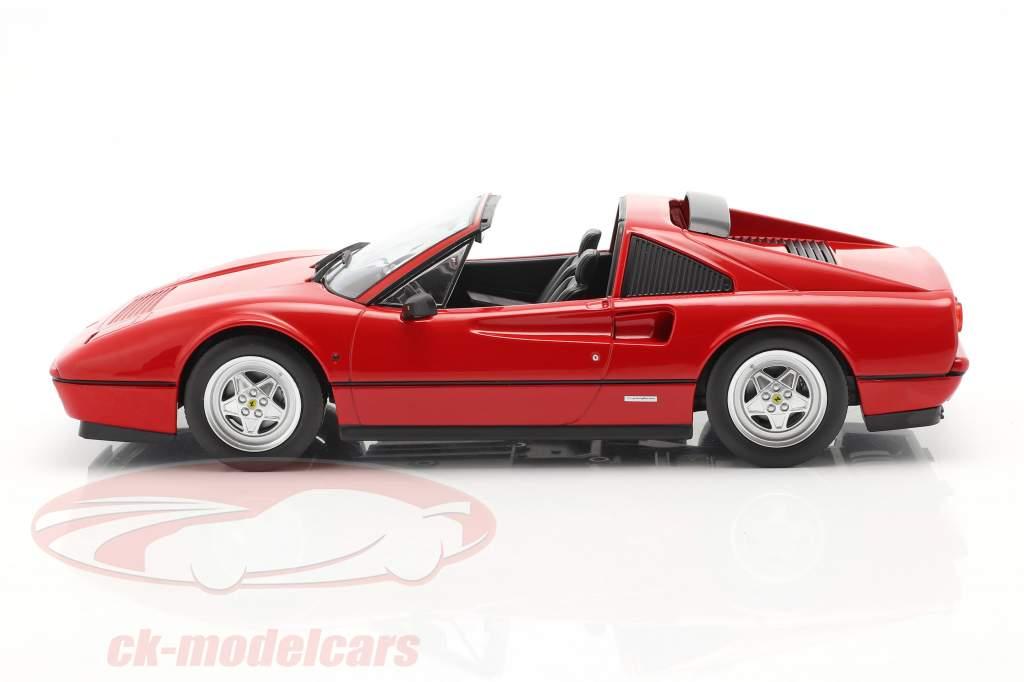 Ferrari 328 GTS Bouwjaar 1985 rood 1:18 KK-Scale