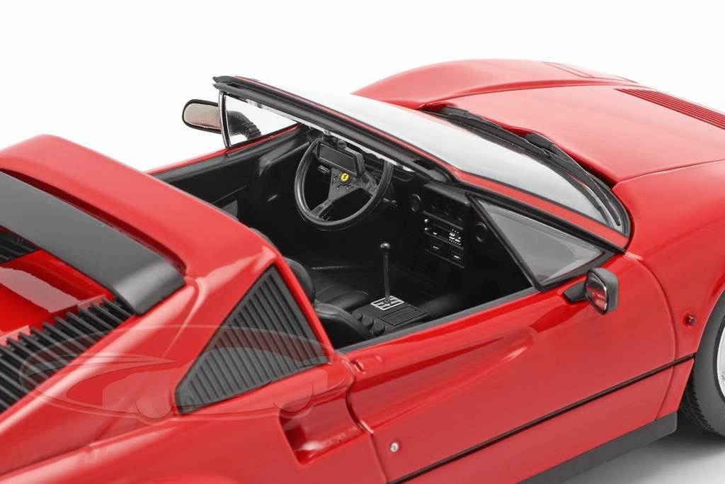 Ferrari 328 GTS Byggeår 1985 rød 1:18 KK-Scale