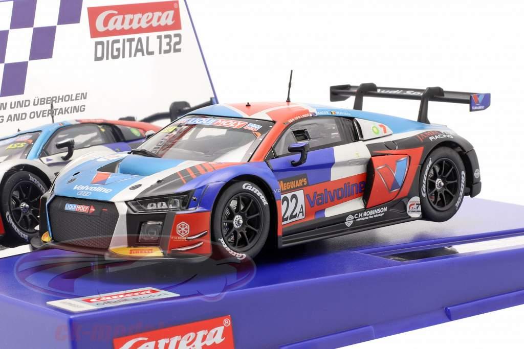 Digital 132 SlotCar Audi R8 LMS #22A Team Valvoline 1:32 Carrera