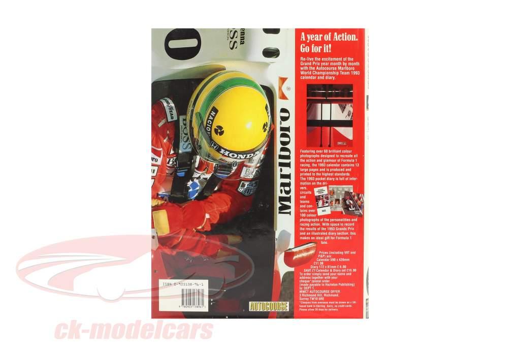 Libro: AUTOCOURSE 1992-1993: The World's Leading Grand Prix Annual (Inglese)