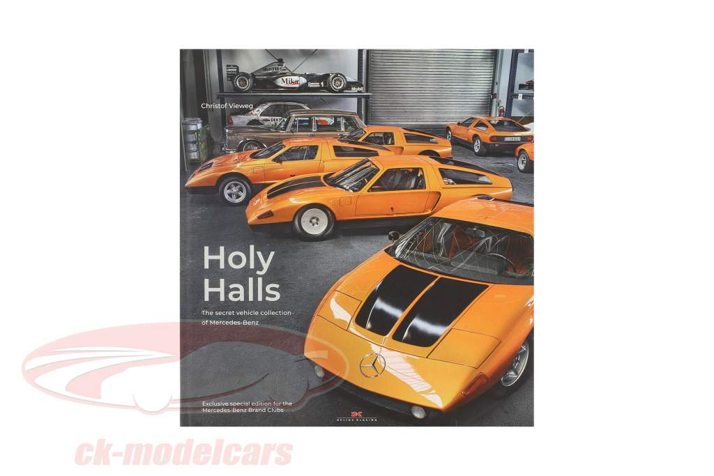 Livre: Holy Halls par Christof Vieweg (Anglais)