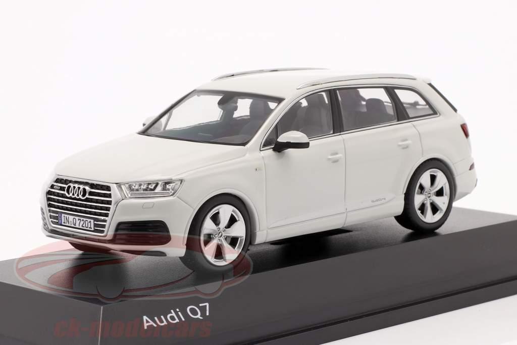 Audi Q7 Año 2015 glaciar blanco 1:43 Spark