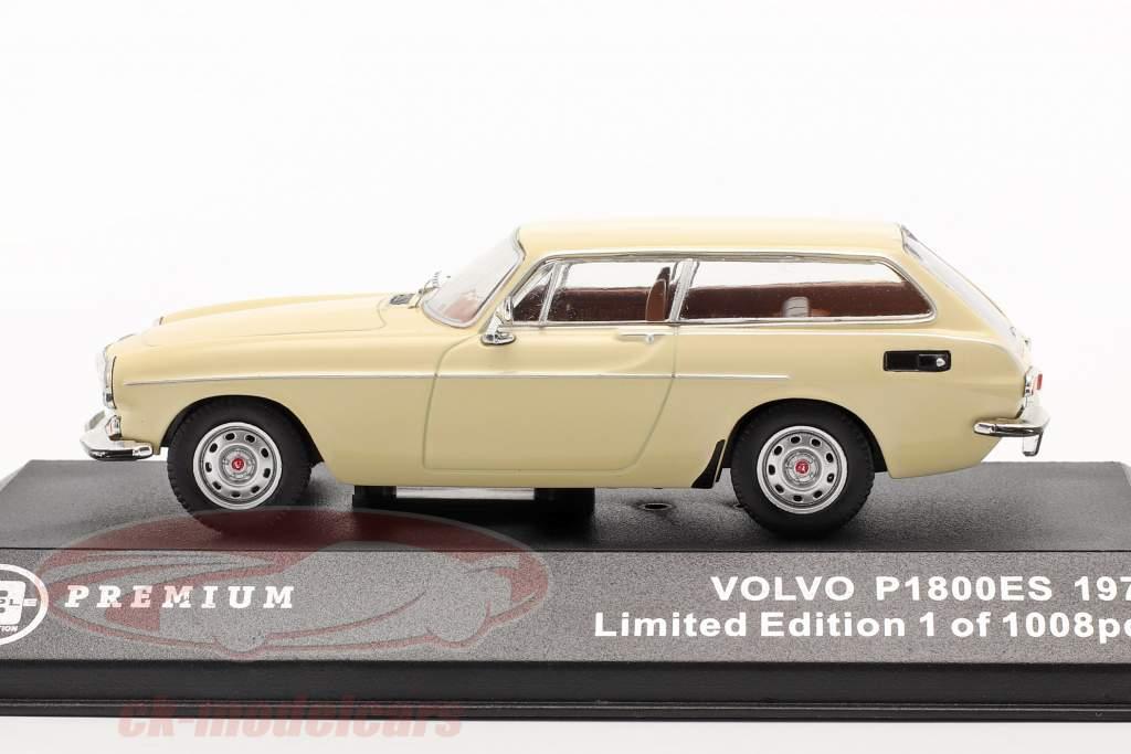 Volvo P1800 ES jaar 1972 beige 1:43 Triple9