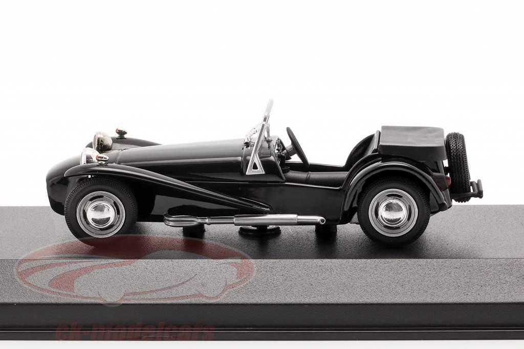 Lotus Super Seven Baujahr 1968 schwarz 1:43 Minichamps