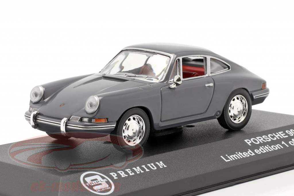 Porsche 901 Année 1963 bleu gris 1:43 Triple9