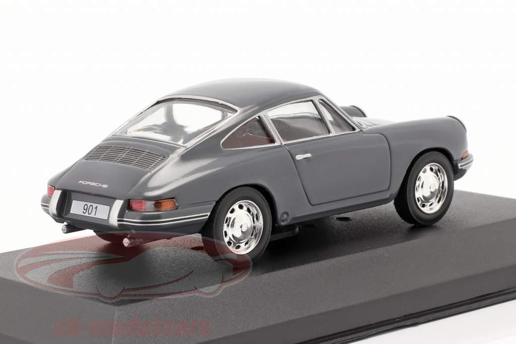 Porsche 901 Year 1963 bluegray 1:43 Triple9