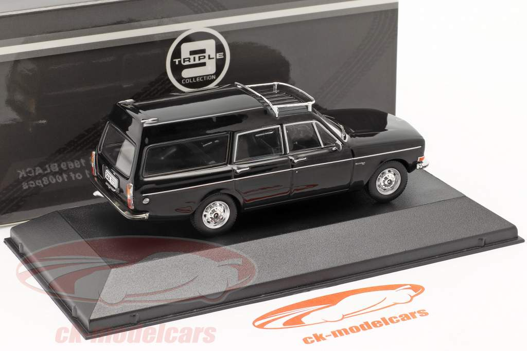 Volvo 145 Express année 1969 noir 1:43 Triple9