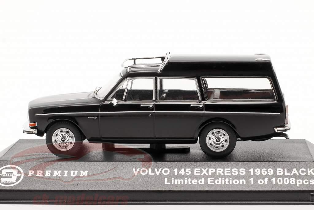 Volvo 145 Express año 1969 negro 1:43 Triple9