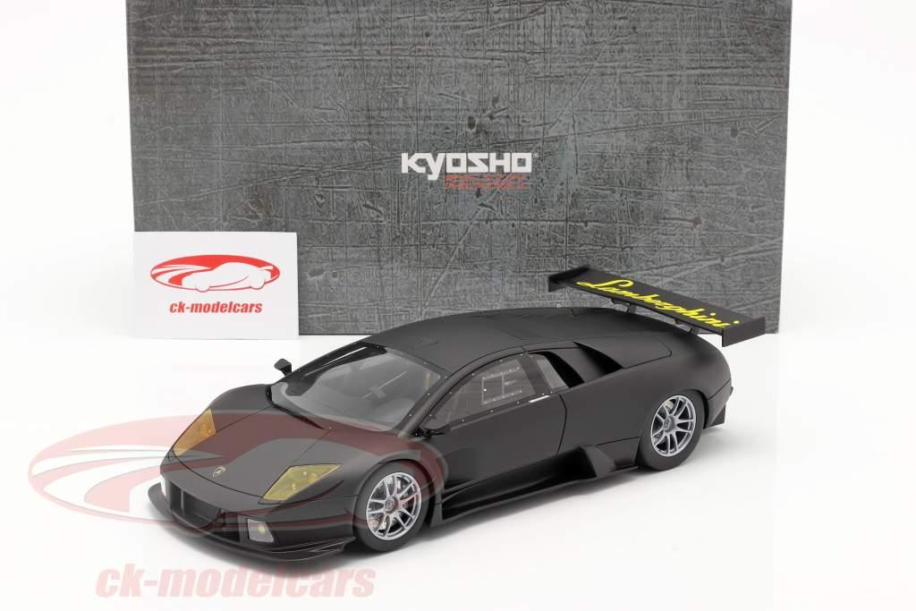 Lamborghini Murcielago R-GT year 2007 mat black 1:18 Kyosho