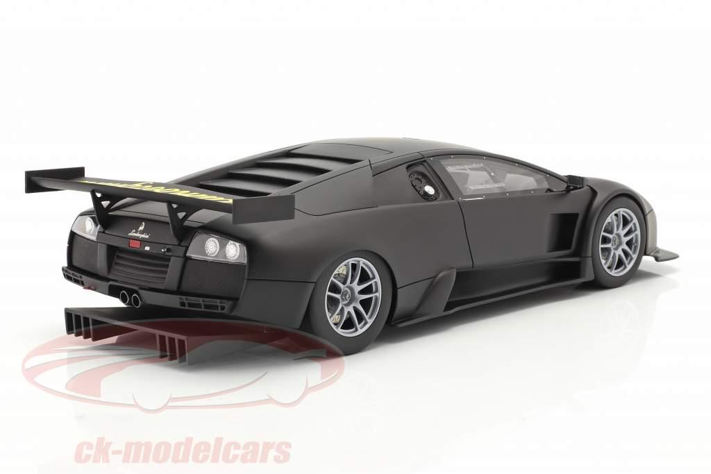 Lamborghini Murcielago R-GT Ano de construção 2007 esteira Preto 1:18 Kyosho
