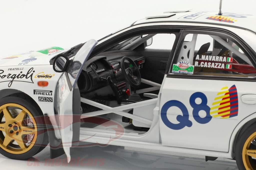 Subaru Impreza 555 #6 Winner Rallye del Ciocco 1998 1:18 SunStar