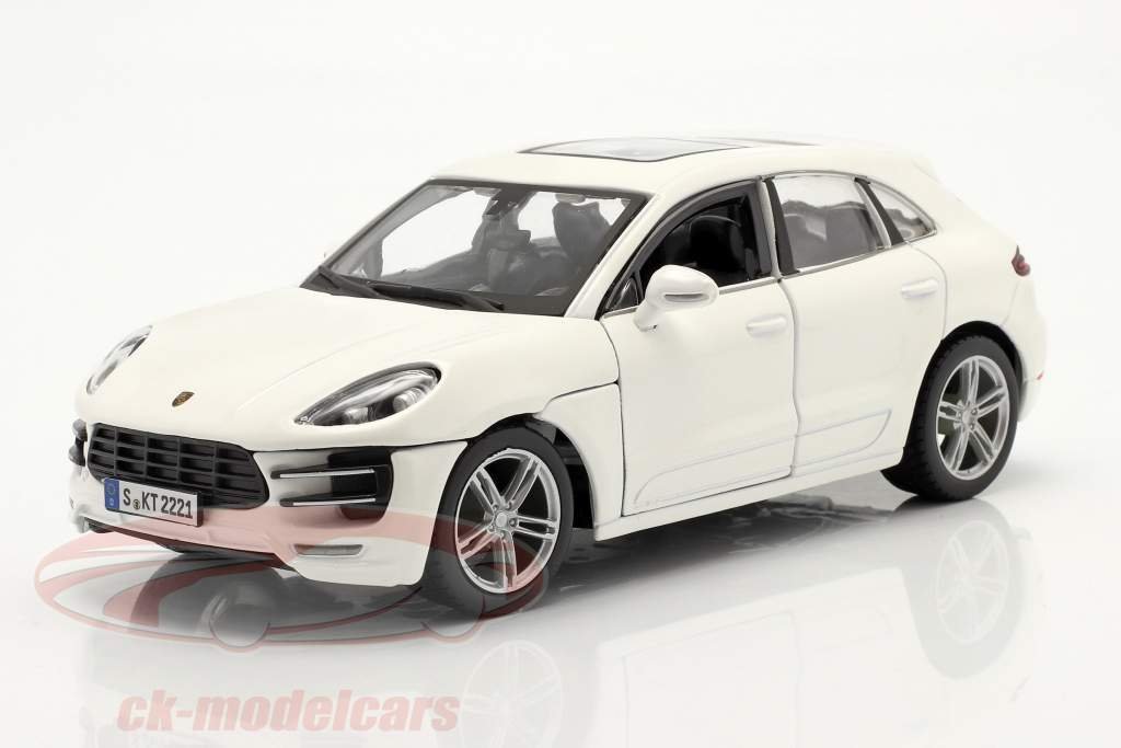 Porsche Macan Anno di costruzione 2014 bianca 1:24 Bburago