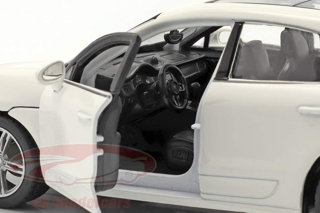 Porsche Macan Ano de construção 2014 Branco 1:24 Bburago