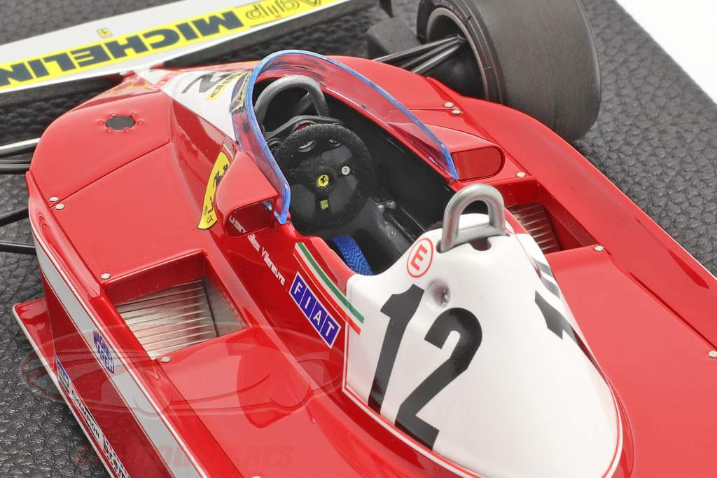 Gilles Villeneuve Ferrari 312T3 #12 formula 1 1978 1:18 GP Repliche