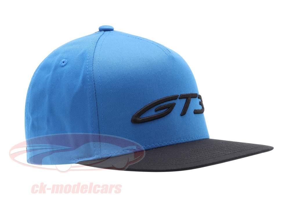 Baseball Cap Porsche 911 (992) GT3 azul / Preto