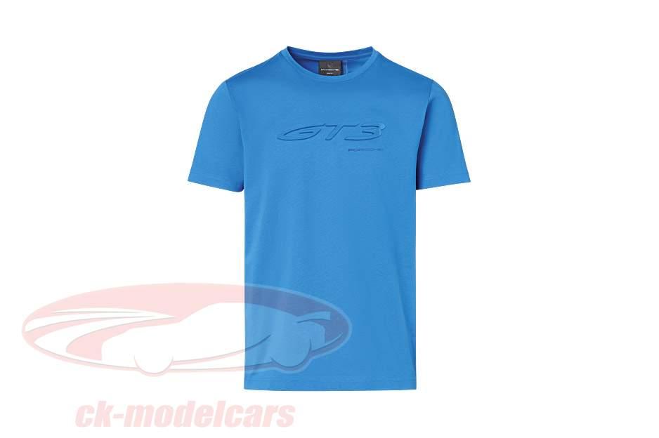 T-Shirt Porsche 911 (992) GT3 blu