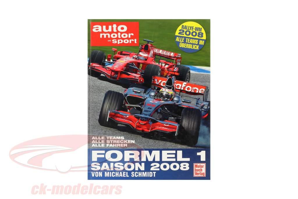 Boek: formule 1 seizoen 2008 van Michael Schmidt