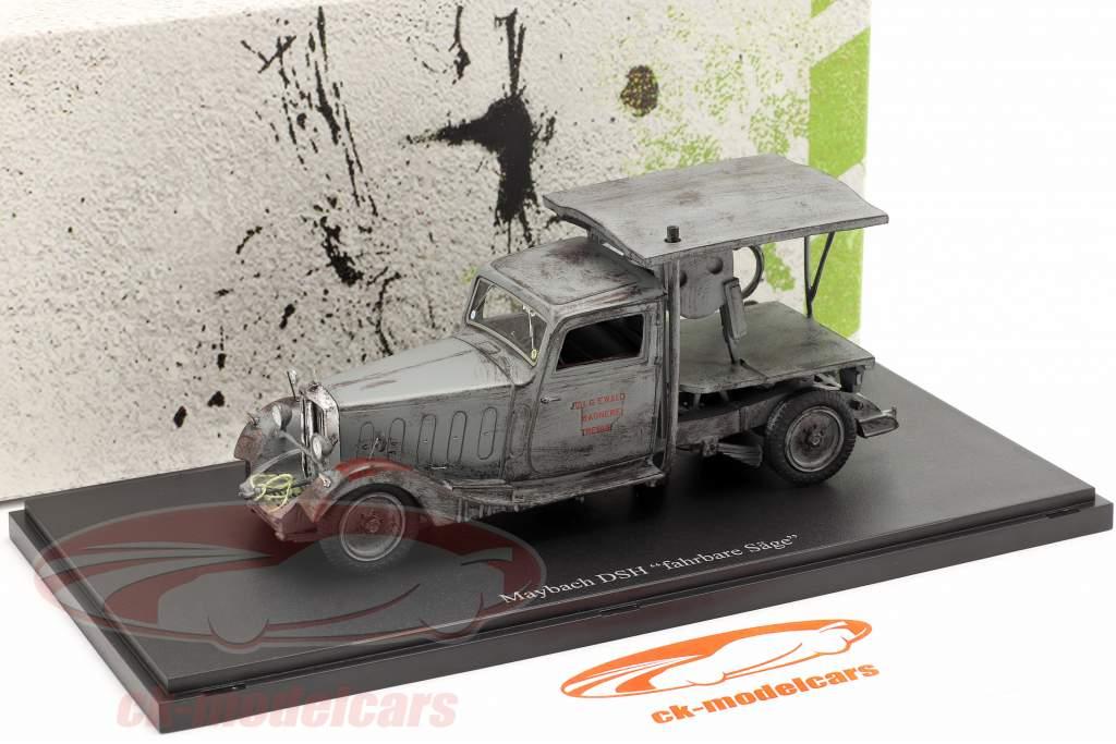 Maybach DSH mobiel zag Bouwjaar 1981 Grijs 1:43 AutoCult