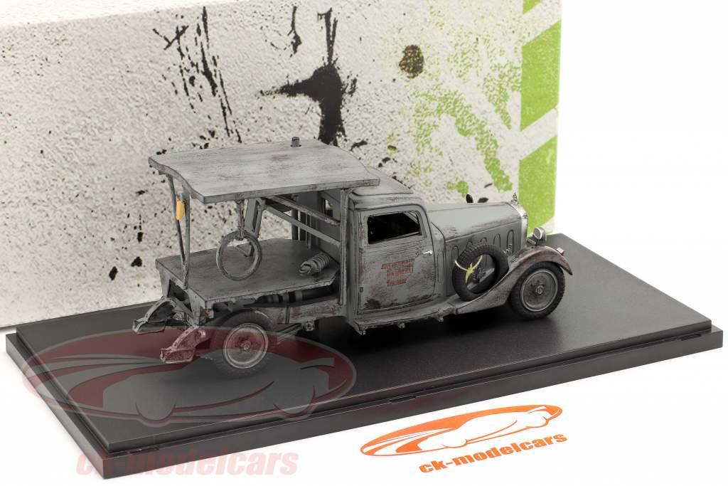 Maybach DSH móvil Sierra Año de construcción 1981 gris 1:43 AutoCult
