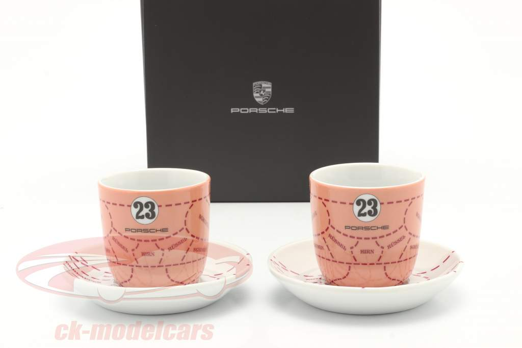 Espressokopjes (set of 2) Porsche 917/20 Pink Pig #23
