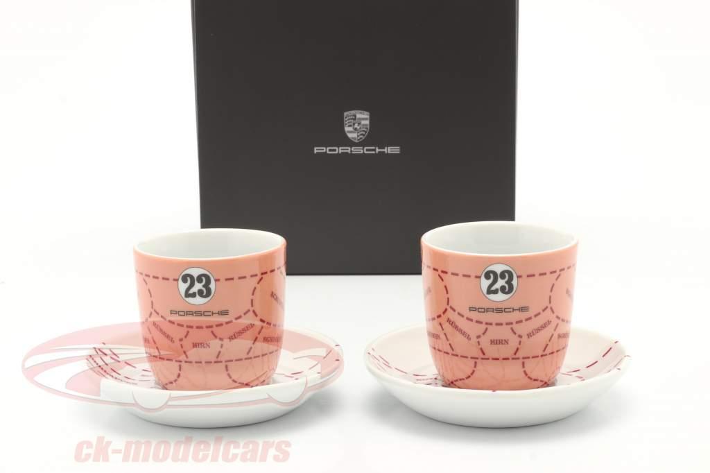 Espressokopper (set of 2) Porsche 917/20 Pink Pig #23
