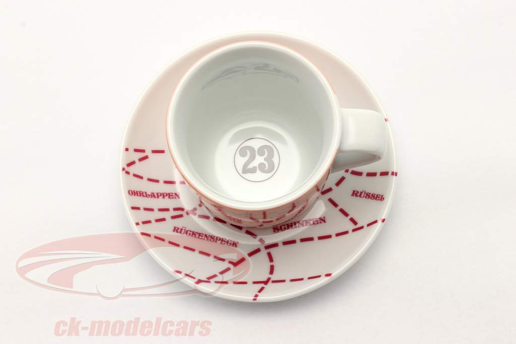 Xícaras expresso (set of 2) Porsche 917/20 Pink Pig #23