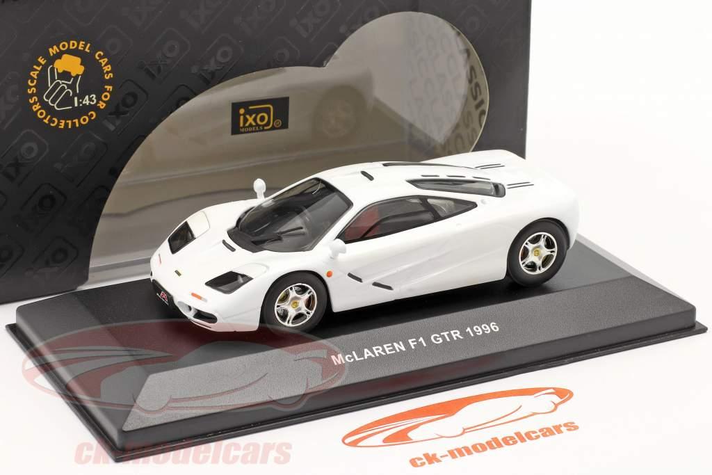 McLaren F1 GTR an 1996 blanc 1:43 Ixo