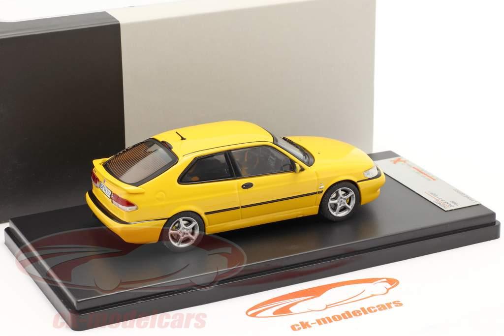 Saab 9-3 Viggen anno 1999 giallo 1:43 Premium X