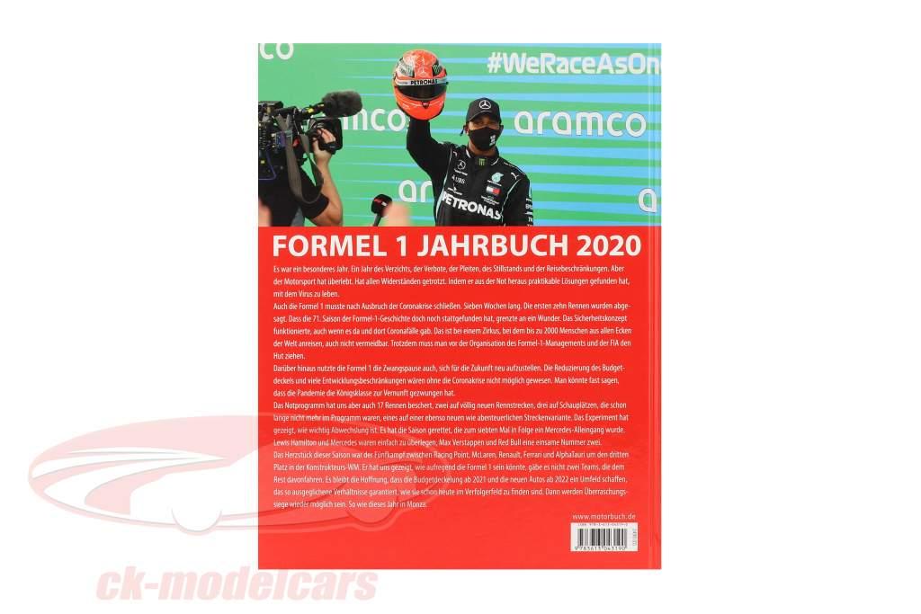 Bestil: formel 1 Årbog 2020 ved Michael Schmidt