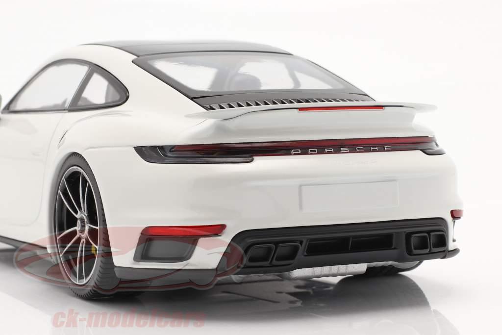 Porsche 911 (992) Turbo S Año de construcción 2020 blanco 1:18 Minichamps