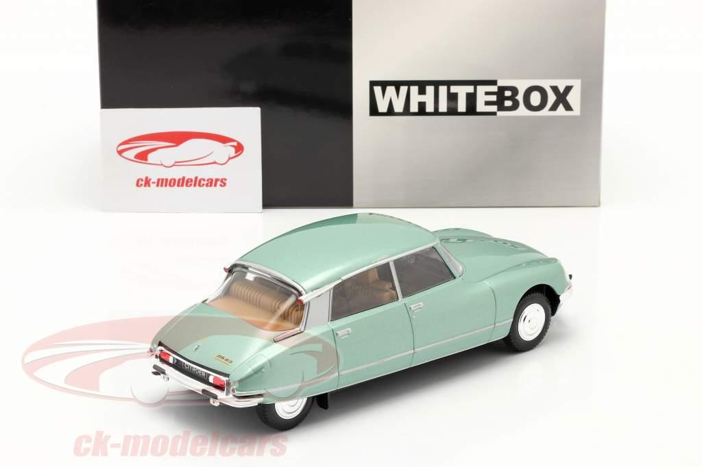 Citroen DS 23 Pallas Anno di costruzione 1973 verde chiaro metallico 1:24 WhiteBox