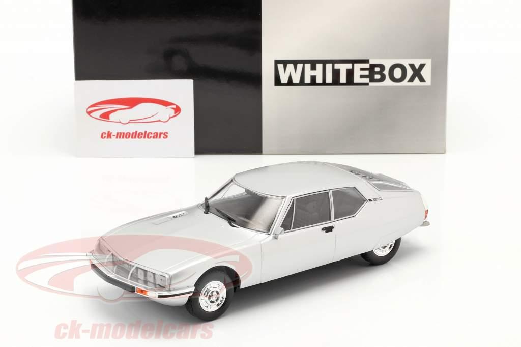 Citroen SM Ano de construção 1970 prata 1:24 WhiteBox
