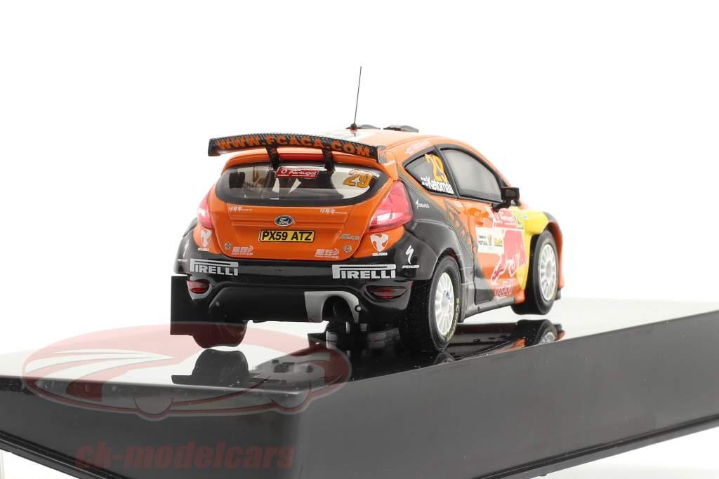Ford Fiesta S2000 #29 winnaar S-WRC rally Portugal 2010 1:43 Ixo / 2. keuze