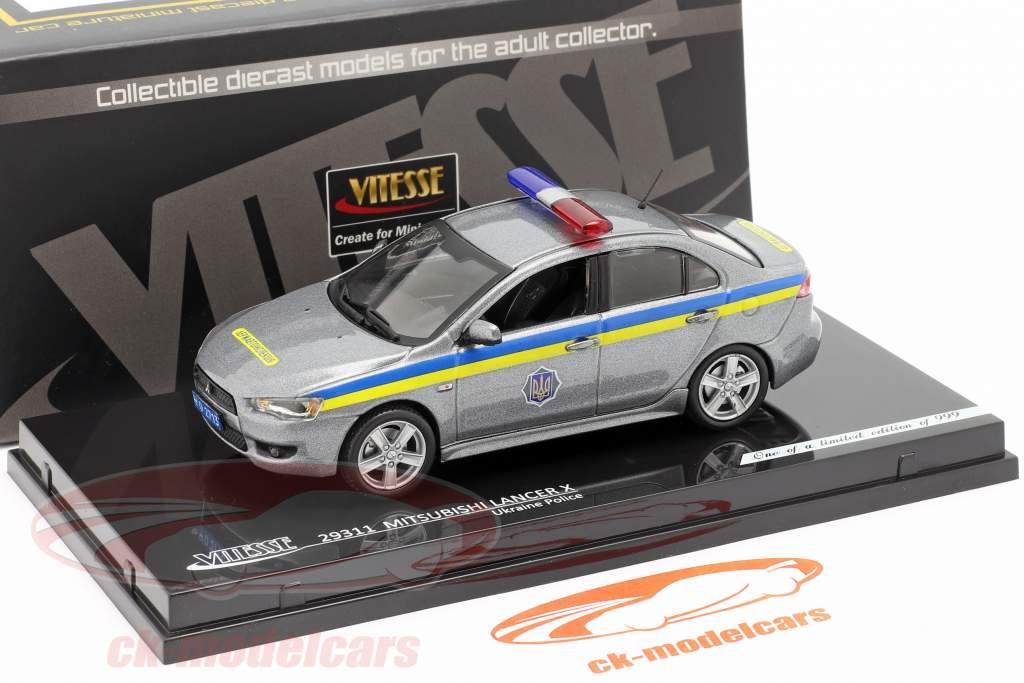 Mitsubishi Lancer X polizia ucraina 1:43 Vitesse