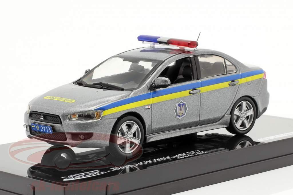 Mitsubishi Lancer X Polizei Ukraine 1:43 Vitesse