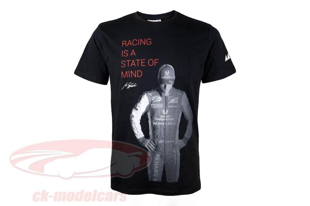Mick Schumacher T-Shirt Claim noir