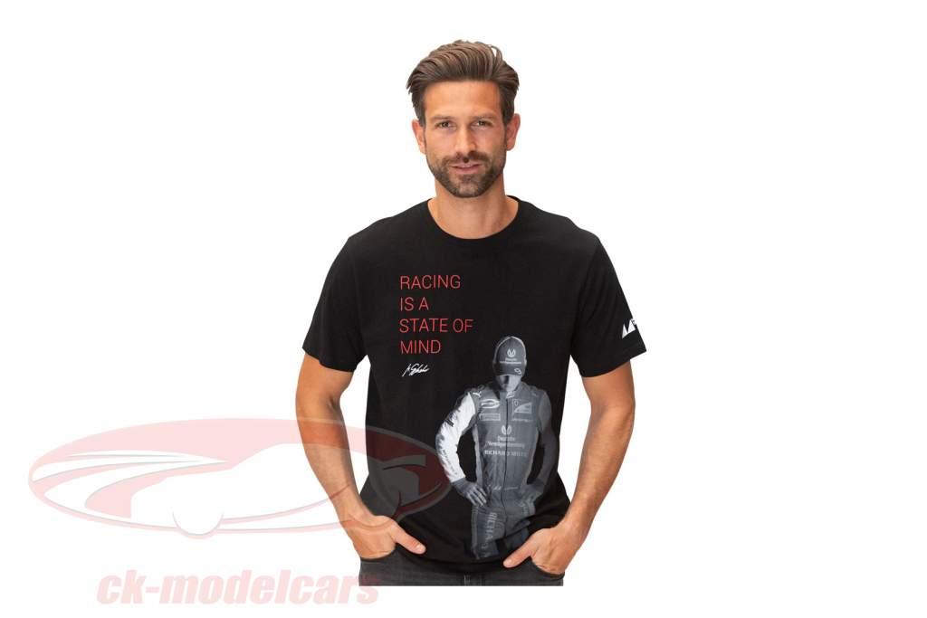 Mick Schumacher T-Shirt Claim zwart