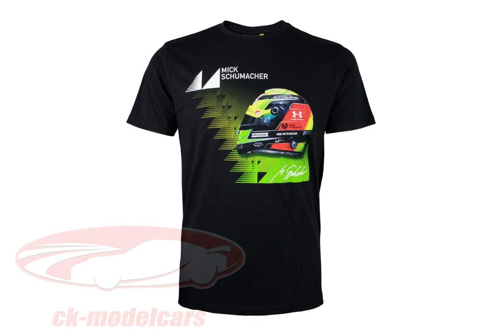 Mick Schumacher T-Shirt Vencedora 2019 Preto
