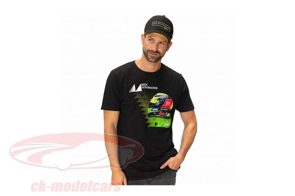 Mick Schumacher T-Shirt Vinder 2019 sort