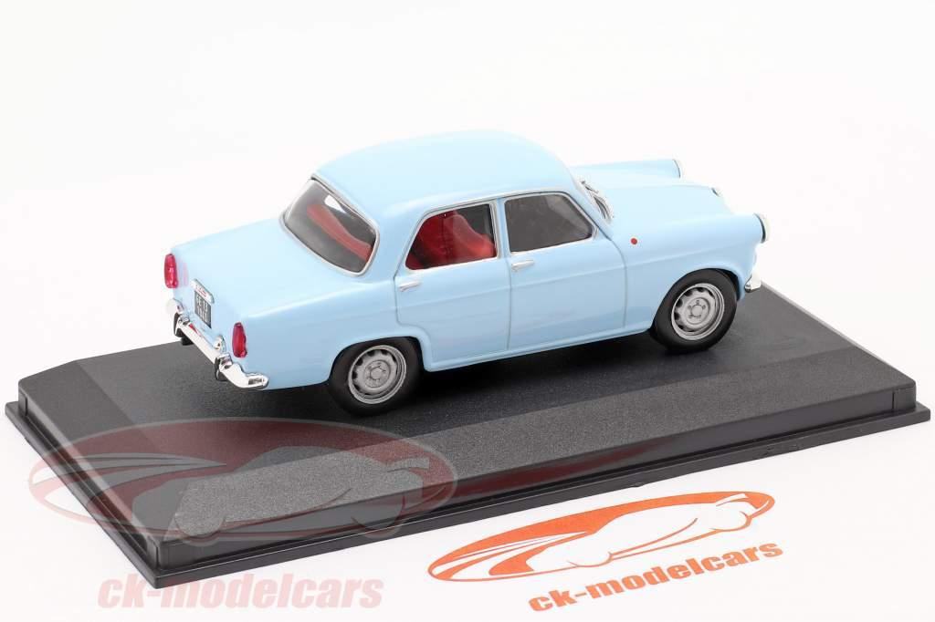 Alfa Romeo Giulietta ano 1956 azul 1:43 Altaya