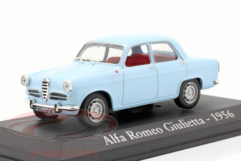 Alfa Romeo Giulietta année 1956 bleu 1:43 Altaya