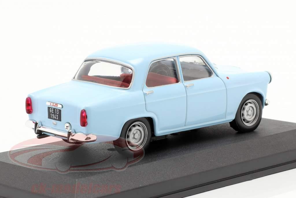 Alfa Romeo Giulietta jaar 1956 blauw 1:43 Altaya