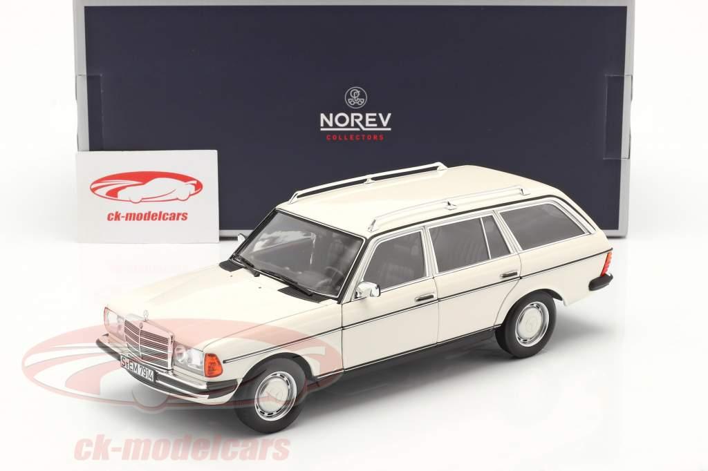 Mercedes-Benz 200 T (S123) year 1982 white 1:18 Norev