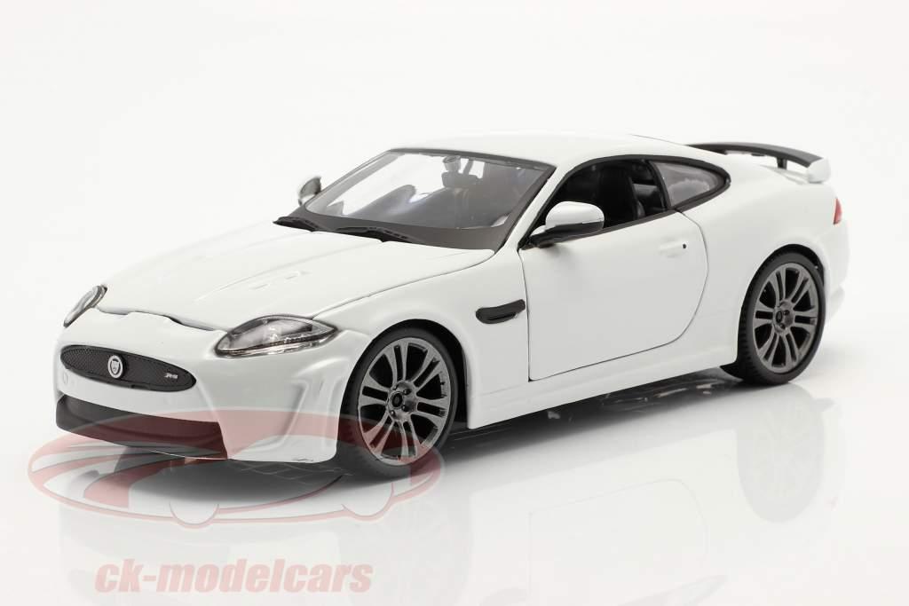 Jaguar XKR-S Anno di costruzione 2011 bianca 1:24 Bburago