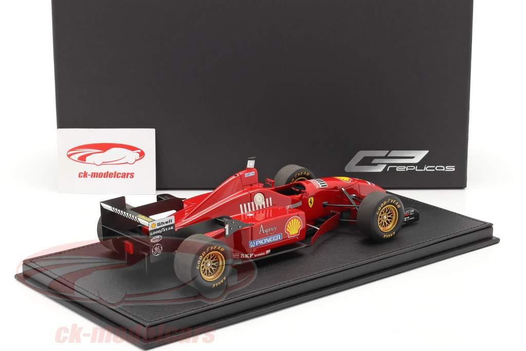 Michael Schumacher Ferrari F310 #1 formula 1 1996 with showcase 1:18 GP Replicas