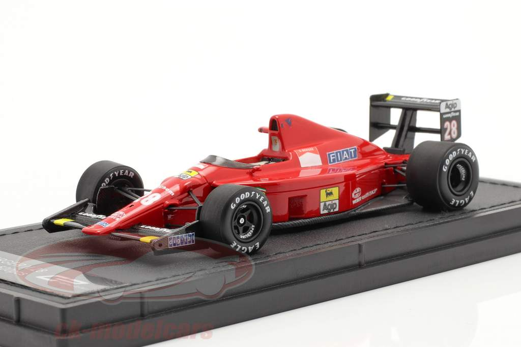 Gerhard Berger Ferrari 640 #28 Fórmula 1 1989 1:43 GP Replicas