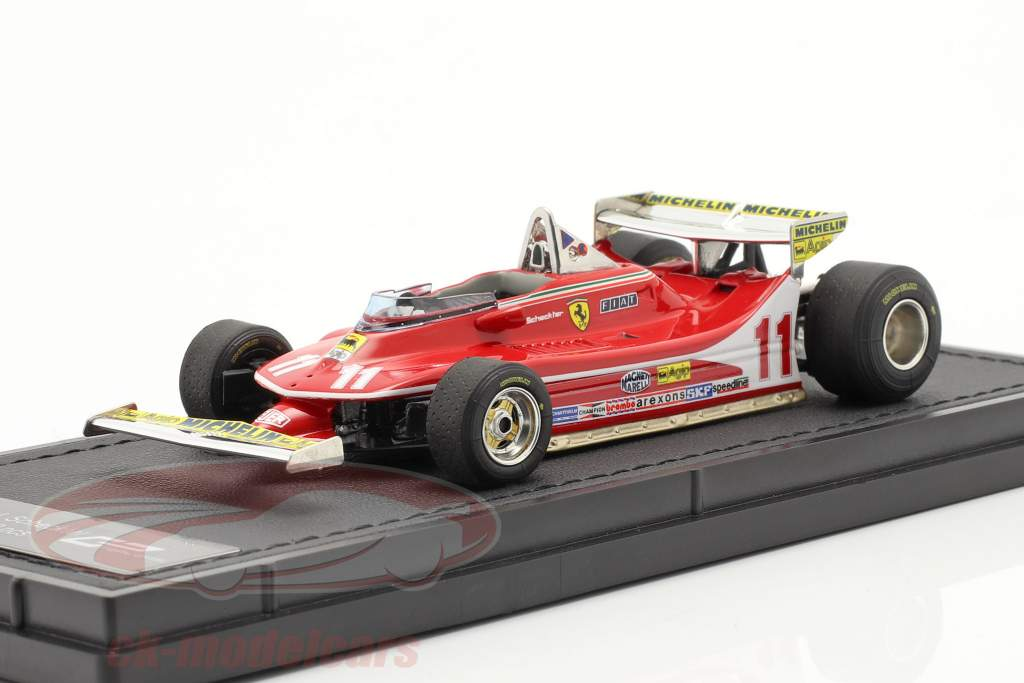 Jody Scheckter Ferrari 312T4 #11 formule 1 Champion du monde 1979 1:43 GP Replicas
